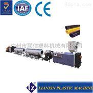 建筑适用HDPE供水管排水管生产线 广州塑机 管材机械厂家哪个好