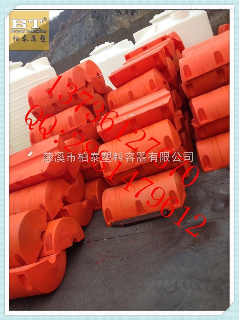 拦污浮筒增氧设备塑料浮桶怎么固定