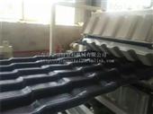 SJZ80pvc树脂瓦设备 塑料琉璃瓦生产线