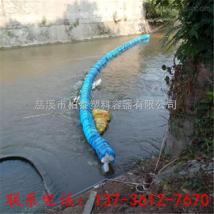 乌江浮筒式浮排高分子拦污浮体价格