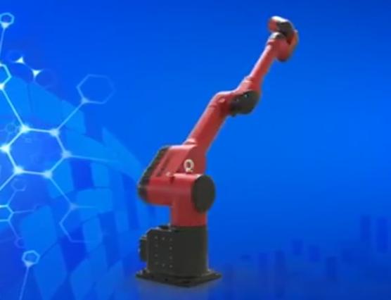 伯朗特喷涂六轴机器人